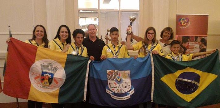 Estudantes brasileiros vencem Olimpíada de Raciocínio na Grécia