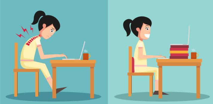 ¿Cuál es la mejor postura para estudiar?