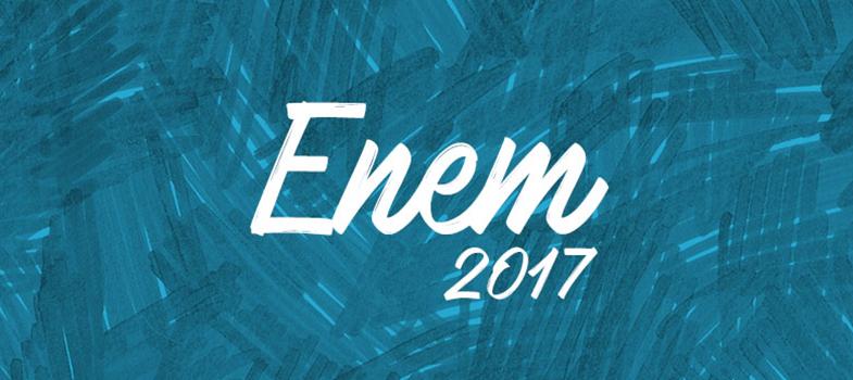 Cartões de confirmação Enem 2017 estarão disponíveis pela internet