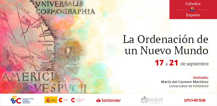 Entre el lápiz y la web: memoria del Nuevo Mundo en los archivos españoles será el tema del primer seminario