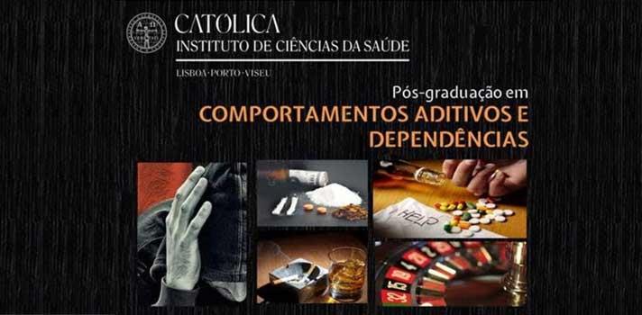 Católica aposta em Pós-Graduação em Comportamentos Aditivos e Dependências