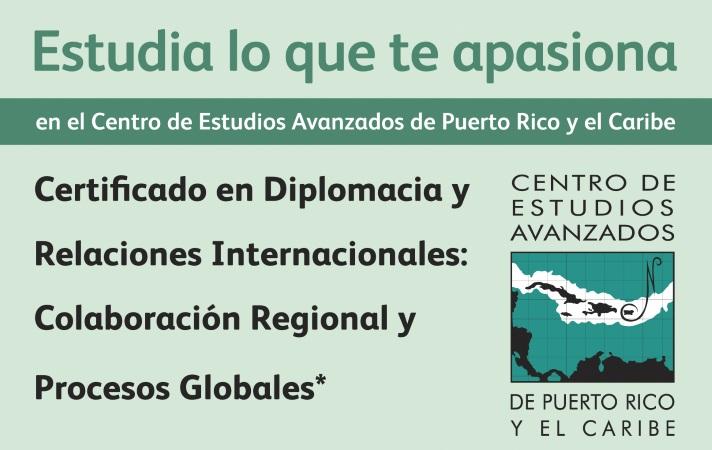 A tiempo para matricular el certificado en Diplomacia y Relaciones Internacionales
