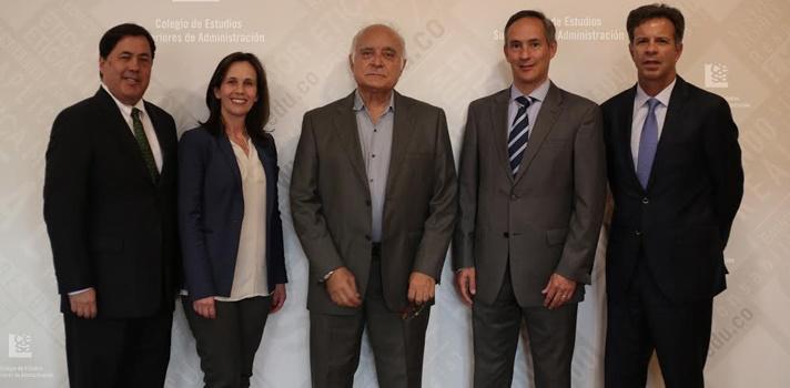 El Cesa invita a Alfredo Hoyos Mazuera a las entrevistas a grandes líderes
