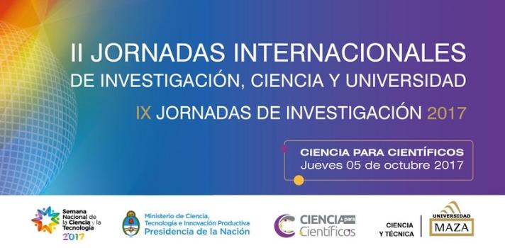 """<p>El próximo <strong>5 de octubre</strong> tendrá lugar el evento <strong>""""Ciencia para Científicos 2017"""" - """"II Jornadas Internacionales de Investigación, Ciencia y Universidad 2017""""</strong>; un evento de capacitación gratuito dirigido a académicos, investigadores y estudiantes de investigación con el fin de discutir y debatir aquellos temas involucrados con el desarrollo de la ciencia.</p><p>El evento se llevará a cabo en la <strong>Universidad Juan Agustín Maza</strong>, ubicada en <strong>la Provincia de Mendoza</strong>, en la calle Lateral Sur del Acceso Este N° 2245.</p><p>Durante la jornada se realizarán conferencias magistrales, talleres y debates que contarán con la participación de diversos especialistas, donde se verán temas como:</p><ul><li>El plagio académico y científico: sus implicancias legales;</li><li>Los problemas éticos de la ciencia;</li><li>Los desafíos de evaluar la ciencia y la práctica científica;</li><li>Los errores más comunes en la escritura científica;</li><li>Derechos de autor de lo que se produce en las instituciones educativas;</li><li>Aspectos éticos sobre el uso y manejo de animales en el ámbito universitario;</li><li>Metodología y escritura de informes de investigación;</li><li>Quiero estudiar un posgrado: ¿qué debería considerar para iniciar el camino?</li></ul><p>Te invitamos a descargar el programa completo <a href=https://noticias.universia.com.ar/net/files/2017/8/27/ciencia-para-cientificos-2017-programa.pdf target=_blank>aquí</a>.</p><p>Para más información e inscripción, pinchá <a href=https://www.eventbrite.com.ar/e/ciencia-para-cientificos-2017-registration-37092526746 target=_blank>aquí</a>.<br/><br/><br/></p>"""