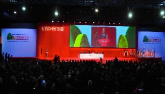 Clausura del III Encuentro Internacional de Rectores de Universia.