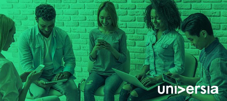 Como é o relacionamento da Universia Brasil com os integrantes de seus processos seletivos