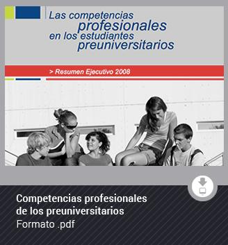 Competencias profesionales de los preuniversitarios