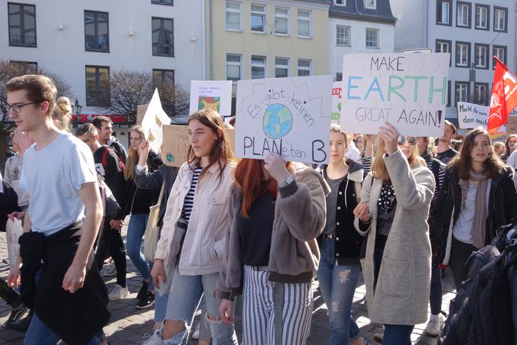 Conciencia ambiental, Greta Thunberg y estudiantes por el cambio climático