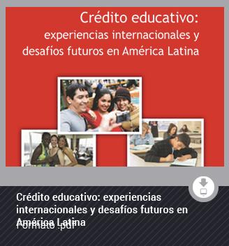 Crédito educativo: experiencias internacionales y desafíos