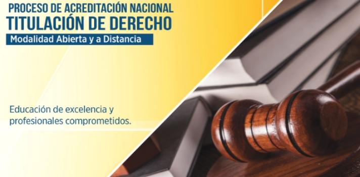 Carrera de Derecho de la UTPL rumbo a la acreditación nacional