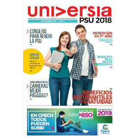 Diario Universia Chile: PSU 2018