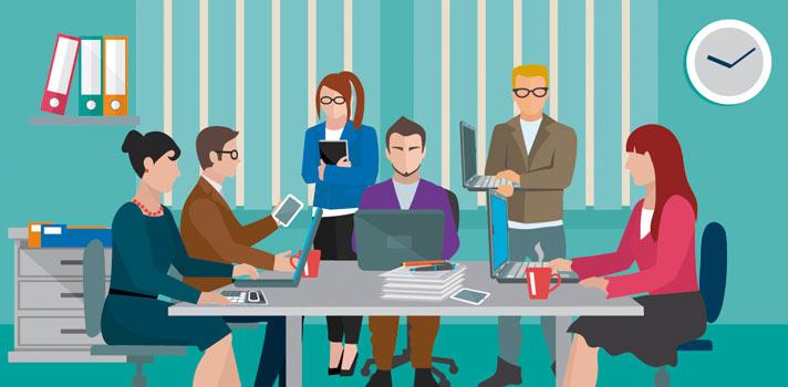 Para ser um bom funcionário é importante ter um bom relacionamento com aqueles que trabalham no mesmo ambiente que você.