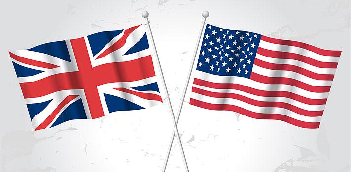 Diferencias de pronunciación entre el inglés británico y americano