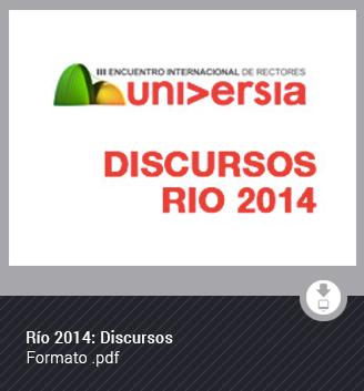 Río 2014: Discursos