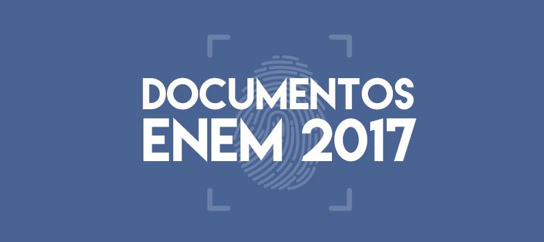 Veja a lista de documentos para levar nas provas do Enem 2017
