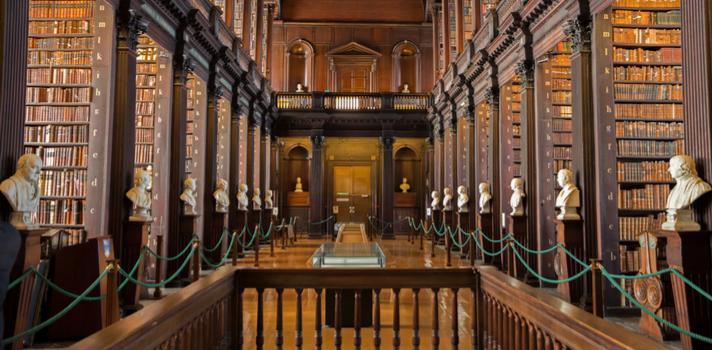 Estas emblemáticas bibliotecas también poseen las colecciones más importantes en diversos ámbitos
