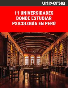 11 universidades donde estudiar psicología en Perú