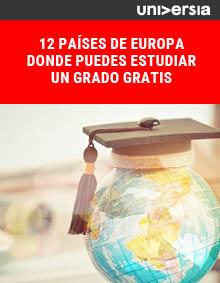 12 países de Europa donde puedes estudiar un grado gratis