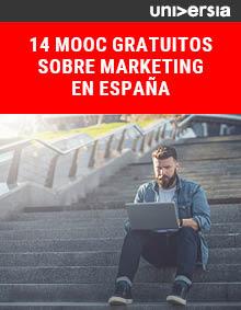 Ebook 14 MOOC gratuitos sobre Marketing en España