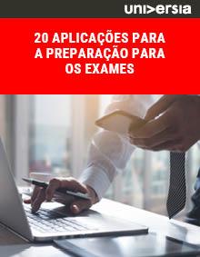 20 aplicações para a preparação para os exames
