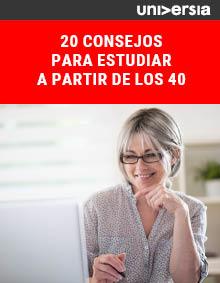 20 consejos para estudiar a partir de los 40
