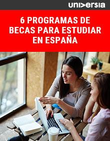6 programas de becas para estudiar en España