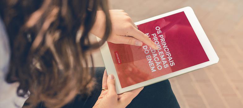 E-BOOK GRÁTIS: apostila com os principais erros na redação do Enem