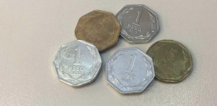 Monedas de $1 y $5 se dejarán de emitir el 1 de noviembre