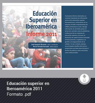 Educación superior en Iberoamérica 2011