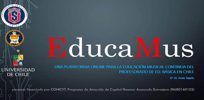 EducaMus ofrece cursos gratuitos a profesores y estudiantes de Pedagogía en Educación Musical