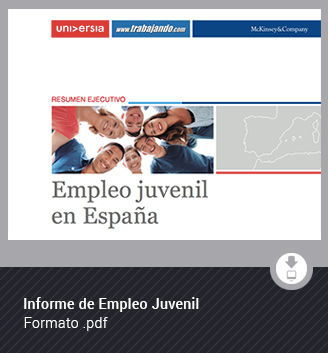 Informe de empleo juvenil