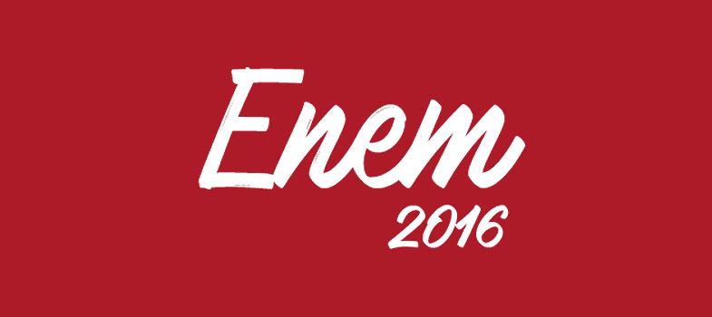 Notas de treineiros do Enem 2016 já estão disponíveis para consulta