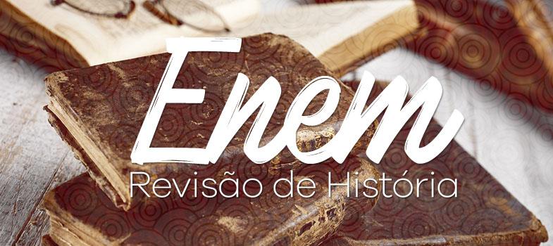 """<blockquote style=text-align: center;><a href=https://www.universiaenem.com.br/ class=enlaces_med_registro_universia title=nosso guia target=_blank id=REGISTRO USUARIOS rel=nofollow>Universia Enem</a>: conheça a plataforma digital e gratuita de estudos para o Enem</blockquote><p>Nos últimos anos, <strong>história do Brasil foi o conteúdo que mais apareceu nas <a href=https://noticias.universia.com.br/tag/notícias-enem-2016 title=Todas as dicas de estudo para o Enem 2016>provas do Enem</a></strong>. Nada mais justo do dedicar algum tempo a mais ao tema na sua revisão de história. Para ajudar, indicamos abaixo um breve resumo dos acontecimentos mais importantes do período imperial da história do Brasil.</p><p><span style=color: #333333;><strong>Leia também:</strong></span><br/><a href=https://noticias.universia.com.br/tag/notícias-enem-2016 title=Todas as dicas de estudo para o Enem 2016>» <strong>Todas as dicas de estudo para o Enem 2016</strong></a></p><p><strong>1822 – Independência do Brasil</strong><br/> Independência do Brasil foi proclamada em 7 de setembro de 1822, às margens do riacho do Ipiranga. Datas importantes desse ano:<br/><strong>9 de janeiro:</strong> Dia do Fico<br/><strong>7 de setembro:</strong> Proclamação da Independência<br/><strong>12 de outubro:</strong> D. Pedro I é aclamado imperador</p><p><strong>1824 –</strong> Primeira constituição brasileira outorgada por D. Pedro I Além dos três poderes do estado, havia um quarto poder, o moderador, que estava acima dos outros. Este era o poder do Imperador. Nesse mesmo ano aconteceu também a Conferência do Equador</p><p><strong>1831 –</strong> D. Pedro I abdica do trono do Brasil</p><p><strong>1871-1888 –</strong> Período de abolição da escravatura</p><p><strong>1871 –</strong> Lei do ventre Livre: os filhos de escravas passaram a ser livres</p><p><strong>1872 –</strong> Foi marcado por um conflito entre o imperador e a Igreja Católica</p><p><strong>1877 –</strong> Ciclo da borracha Inicio do """"ciclo d"""