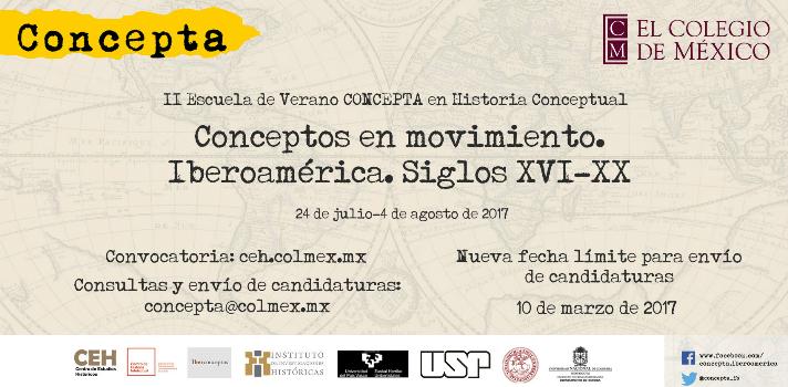 Escuela de verano en Historia Conceptual sobre las Modernidades Iberoamericanas