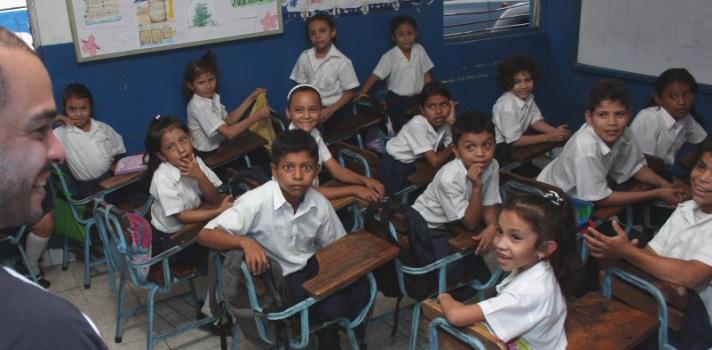 Nicaragua destina menos de un 3% del PBI a la enseñanza
