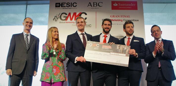 Banco Santander acoge la final de la Competición de simuladores de negocios internacionales de ESIC