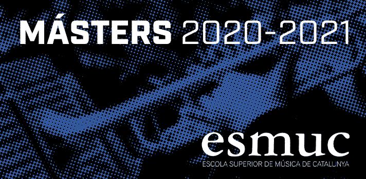 Amplia oferta de másteres especializados de la ESMUC