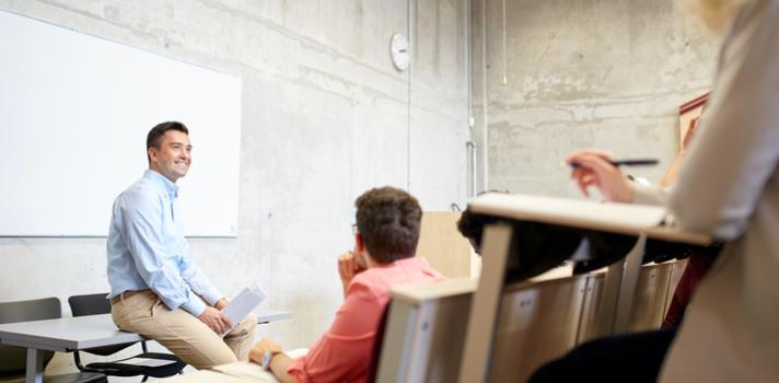 El aula debe ser un espacio adaptable según las materias o actividades que se vayan a trabajar