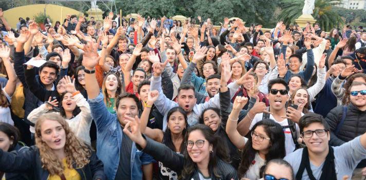 Estudiantes de todo el mundo se reúnen en el evento más internacional de Buenos Aires
