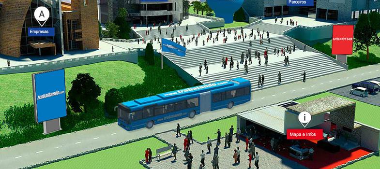 Conheça a Feira Virtual de Estágio e Trainee promovida pela Universia Brasil e Trabalhando.com