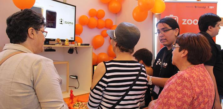Innovadores proyectos cautivaron al público asistente a la XXV Feria de Software 2017 de la USM
