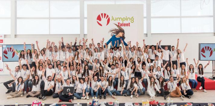 Más de 96 universitarios muestran su talento ante 12 grandes empresas en el VII Jumping Talent