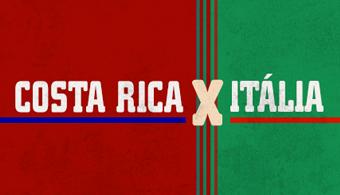 Infografia: Descubra curiosidades de Itália X Costa Rica