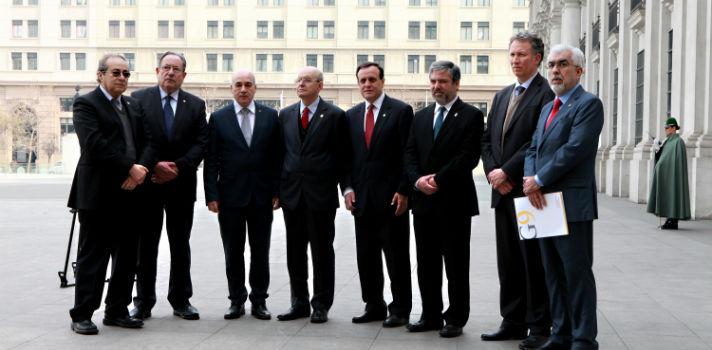 Los rectores del G9 han estado presentes en diversas instancias del debate legislativo de las Universidades del Estado y de Educación Superior