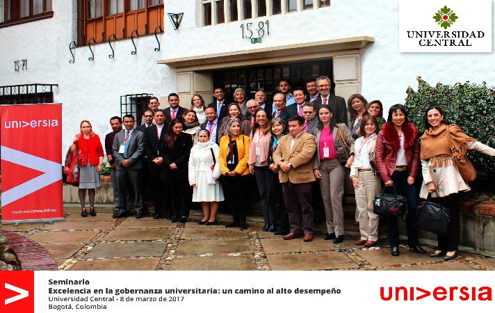 """Seminario """"Excelencia en la Gobernanza Universitaria: un camino al alto desempeño""""."""