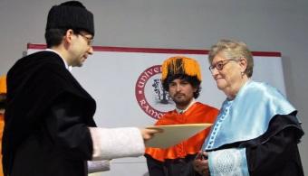 Victòria Molins es nombrada doctora Honoris Causa por la URL