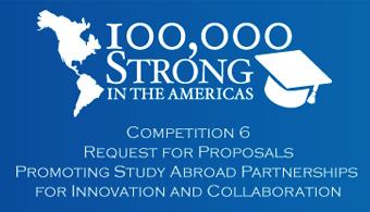 """<p style=text-align: justify;>La primer webinar realizada en inglés, tuvo lugar en el día de ayer, 22 de enero, y la próxima, en español, tendrá lugar el <strong>próximo martes 3 de febrero</strong> a las 11.30 de México D.F., 12:30 de Bogotá, y 14: 30 de Buenos Aires y Santiago de Chile (ver más horarios en la página de registro más abajo). El webinar se centrará en cómo involucrarse con <strong>100,000 Strong in the Americas</strong>, y dará consejos sobre cómo escribir una propuesta sólida, las dificultades programáticas de la redacción de propuestas, y más.</p><p style=text-align: justify;></p><p style=text-align: justify;></p><p style=text-align: justify;></p><p style=text-align: justify;></p><h4 style=text-align: justify;>Acerca de 100,000 Strong in the Americas Innovation Fund </h4><p style=text-align: justify;>La sexta competencia para los <strong>100,000 Strong in the Americas Innovation Fund</strong>, llamados """"Promoting Study Abroad Partnerships for Innovation and Collaboration"""" abrió el pasado 15 de enero y tiene como fecha de cierre el <strong>6 de marzo de 2015</strong>.</p><p style=text-align: justify;></p><p style=text-align: justify;>Esta ronda de financiación que cuenta con el apoyo del <strong>Banco Santander</strong>, va dirigida a todos los institutos de educación superior del Hemisferio Occidental.</p><p style=text-align: justify;></p><p style=text-align: justify;>La meta de <strong>100,00 Strong in the Americas</strong> es una iniciativa del Presidente Barack Obama para todo el Hemisferio Occidental cuyo objetivo es incrementar el número de estudiantes Norteamericanos estudiando en el resto de los países de América a 100,000, e incrementar el número de estudiantes del resto de América en Estados Unidos también a 100,000 para el 2020.</p><p style=text-align: justify;></p><p style=text-align: justify;>Haz click en el siguiente enlace para más <strong><a href=https://attendee.gotowebinar.com/register/3519822957244900609 target=_blank>información """