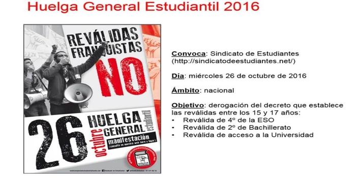 Contra las reválidas: Manifestaciones y paros convocados por estudiantes en oposición a la nueva reglamentación