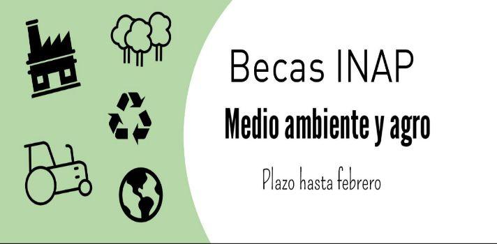 INAP: 3 becas de posgrado en en el campo de medio ambiente y agro que expiran en febrero