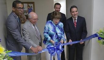 Inauguran nuevas instalaciones en National University College en Río Grande